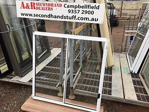 NEW Aluminium SLIDING WINDOWS 1200h x 1200w (approx size) 5 COLOURS
