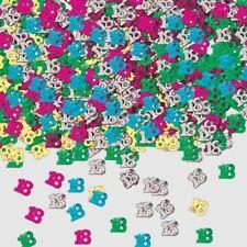 18th anniversaire numéro confettis fête table décoration copeaux 14g