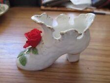 Norcrest Porcelain Country Rose Shoe #J424