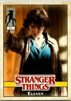 Topps Stranger Things Welcome To The Upside Down Character Card #1 Eleven