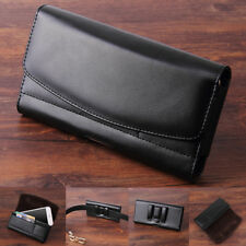 Universal Waist Bag Pouch Belt Loop Holster Leather Mens Wallet Phone Case Cover