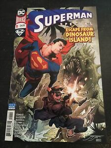 "Superman Special#1 Incredible Condition 9.4(2019) ""Escape From Dinosaur Island"""