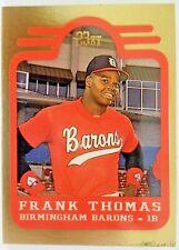 Frank Thomas 23kt Gold Card Bringham Barons Bleachers Gold Minor League Card