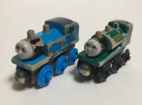 Vintage 1994 Thomas Wooden Railway Thomas PeterSam Engines - Britt Alcroft