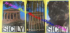 BOX 6 DVD + BOOK LIBRO SICILY regione siciliana 2006 sicilia EGADI no vhs (SD2)