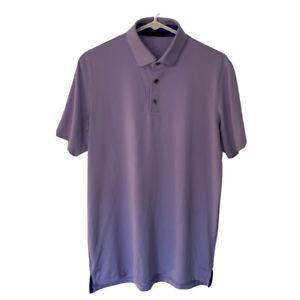 Greyson Purple Lilac Performance Stretch Golf Polo Short Sleeve Men's Small