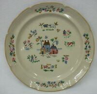 "Vtg International Stoneware Heartland Dinnerware China 12"" Serving Platter Tray"