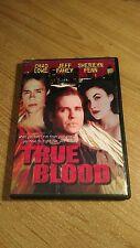 True Blood (DVD, 1999) RARE 1989 JEFF FAHEY ACTION THRILLER