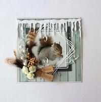 Border Metal Cutting Dies Card Icicle Craft Scrapbooking Winter Die Cut Stencil