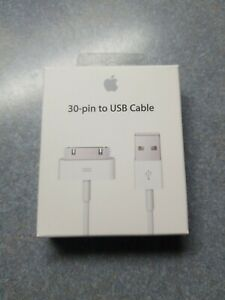 Genuine Apple 30-pin to USB Cable MA591G/C (Brand New)