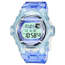 Casio BG-169R-6ER Ladies Baby-G Telememo 25 Blue Digital Watch RRP £80