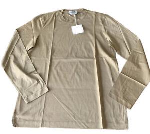Authentic Hermes Men's Long Sleeve Crewneck Tee Shirt