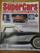 Encyclopedia of Super Cars 6 Chevrolet Corvette, Paris Dakar, Giugiaro