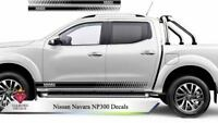 Nissan Navara NP300 Decals Side Stripe Stickers ANY COLOUR