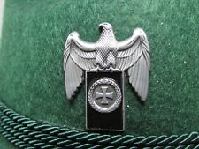 Military Eagle with Black Banner & Iron Cross Pin