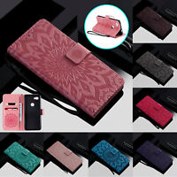 For Google Pixel 4 XL 3a XL 2 XL Patterned Wallet Leather Flip Stand Case Cover