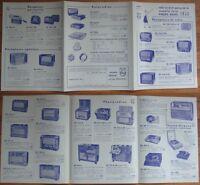 Super 1952 Catalog - Philips Radios-  MANY Illustrations