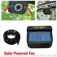 New Solar Power Car Window Windshield Air Vent Auto Cooling Fan Cooler Radiator