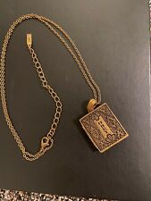 OBEY Woman's Locket Pendant Necklace