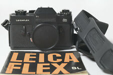 LEICA LEICAFLEX SL BLACK - EXC+++