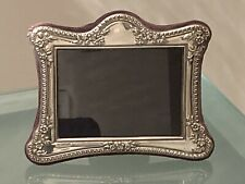 Antique Sterling Silver English Decorative Picture Frame