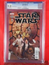 Marvel Comics STAR WARS #1 CGC 9.8 MCLEOD VARIANT COVER 3/15