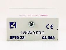 **NEW** (no box) OPTO 22 G4-DA3 ANALOG I/O G4DA3 ***FAST FREE SHIPPING***
