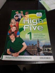 HIGH FIVE 1 LIBRO DI TESTO INGLESE SCUOLA MEDIA  9780194603911