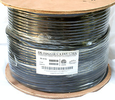 250'FT CAT6'e OUTDOOR UNDERGROUND BURIAL CABLE WIRE WATERPROOF UV THICK 23-AWG