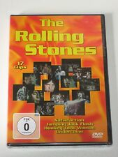 DVD/SEALED Original Verpackt OVP NEU /THE ROLLING STONES /17 CLIPS