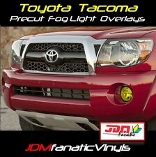05-11 Tacoma XRunner PreRunner Precut Yellow Fog Light Overlays Tint Wrap JDM