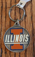 University Illinois Keychain College University Sports NCAA Licensed Official