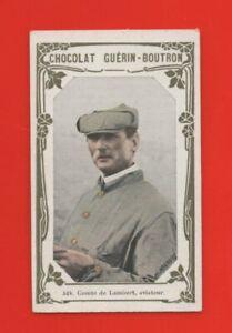 Chromo Guérin Boutron - 524 - Comte de Lambert, aviateur   (K7202)