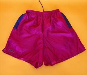 Columbia 90s colorful rare women Shorts vtg size medium nylon