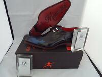 JEFFERY WEST Blue Flame Lace-up Shoes 🌍 Size 8 🌎 RRP £395+ 🌏 UK FREEPOST