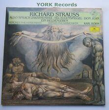DG 415 637-1 - STRAUSS - Also Sprach Zarathustra / Don Juan- Ex Double LP Record