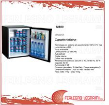 MINIBAR CON TECNOLOGIA AD ASSORBIMENTO 50LT 455X480X560 COLORE NERO ART. MB50