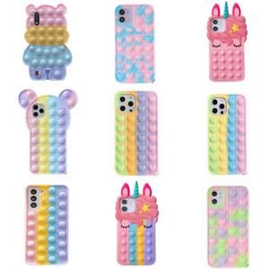 Funny silicone phone Cartoon case For Samsung A20 A30 A51 A71 A31 A10E A11 A02S