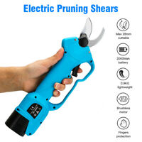 Electric Pruning Shears 2.8CM Cordless Branch Cutting Scissors Secateur Grafting