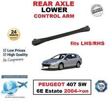 Eje Trasero Control Inferior Brazo Para Peugeot 407 SW 6e Familiar 2004-