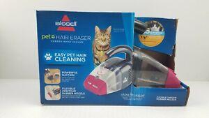 Bissell Pet Hair Eraser #33A1 Corded Hand Held Vacuum Magenta & Gray