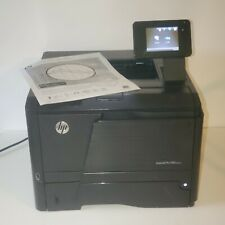 HP LaserJet Pro 400 M401dn Workgroup Laser Network Printer 12000 Page Count