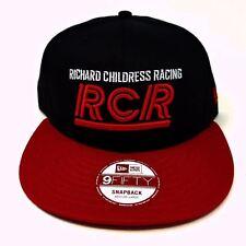 New Era 9 Fifty Richard Childress Racing (RCR) Black / Red SnapBack Ball Cap Hat