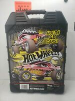 48 HOT WHEELS Car Carrying Case Diecast Organizer W/Carrying Handle Item # 20020