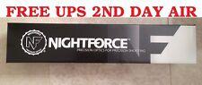 --NEW-- 2017 Batch Nightforce NXS 8-32x56mm .250 MOA Zero Stop MOAR C437