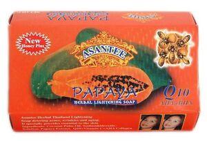Asantee Thai Papaya Herbal Skin Soap 125 grams x 1
