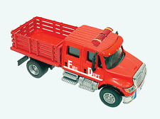 HO Scale International Crew Cab Fire Dept. Stake Bed Truck - Boley #4577-11 *NIP