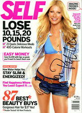 GWYNETH PALTROW signed autographed SELF magazine