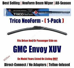 Super Premium NeoForm Wiper Blade (Qty 1) fits 2004-2005 GMC Envoy XUV 16220