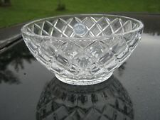 "Lenox Star Design Beautiful Fine Crystal Bowl 5"" Diameter Sticker On It"